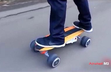 two wheel electric scooter Airwheel M3