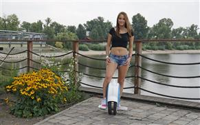 Airwheel Q5 electric twin-wheel scooter